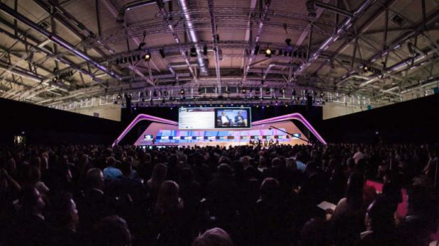 Die Congress Hall der Dmexco