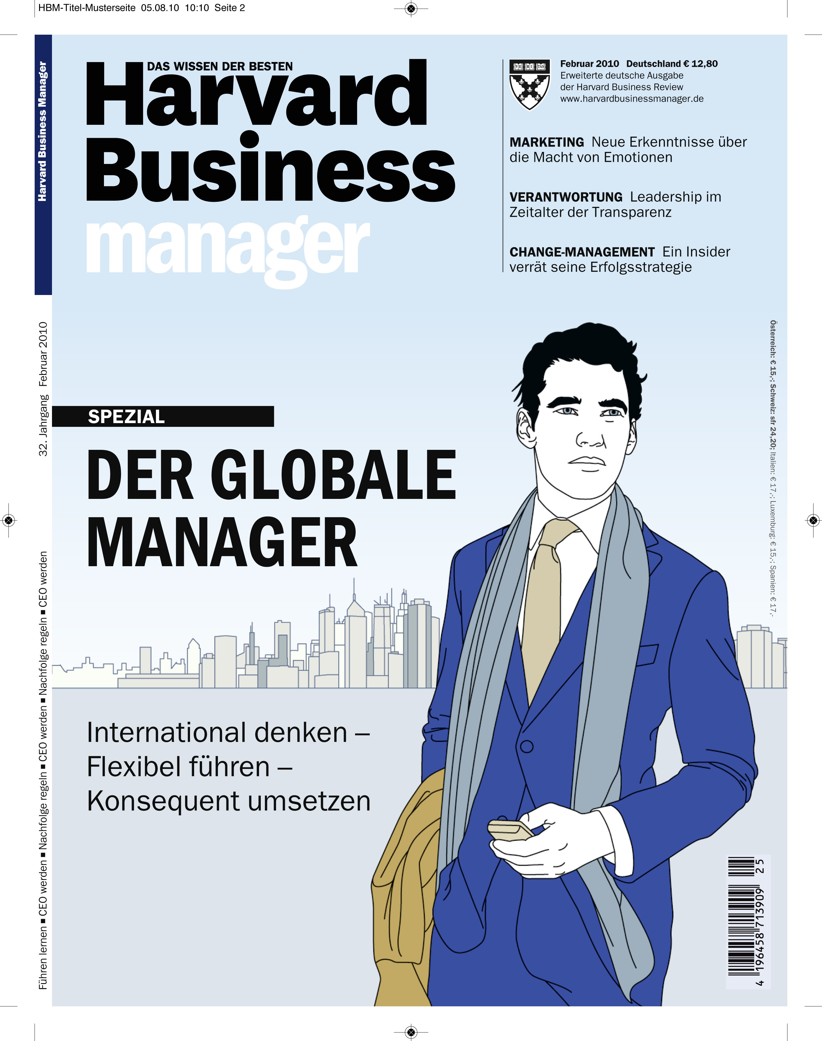 Dummy des neuen Harvard Business Managers