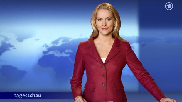 Umfrage judith rakers ist die beliebteste nachrichtenmoderatorin for Nachrichtensprecher zdf