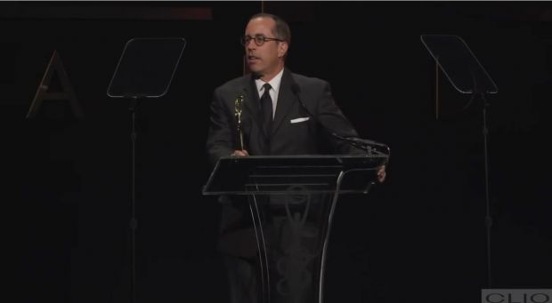 Jerry Seinfeld bei den Clio-Awards