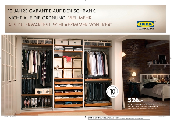 grabarz partner kreiert kampagne f r ikea schr nke. Black Bedroom Furniture Sets. Home Design Ideas