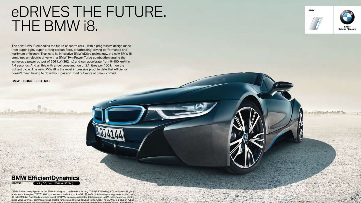 bmw i8 plug in hybrid modell erh lt den paul pietsch award. Black Bedroom Furniture Sets. Home Design Ideas