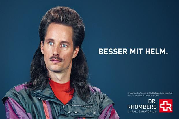 Helm Werbung