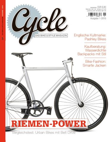 "Das ""Bike & Style Magazin"" kommt am 24. November in den Handel"