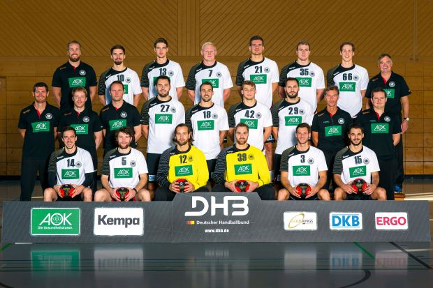 Die deutsche Handball-Nationalmannschaft nimmt an der WM 2015 in Katar teil