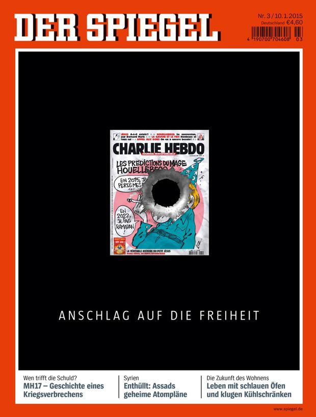 Cover der woche die titelseiten zu charlie hebdo for Der spiegel aktuelle ausgabe