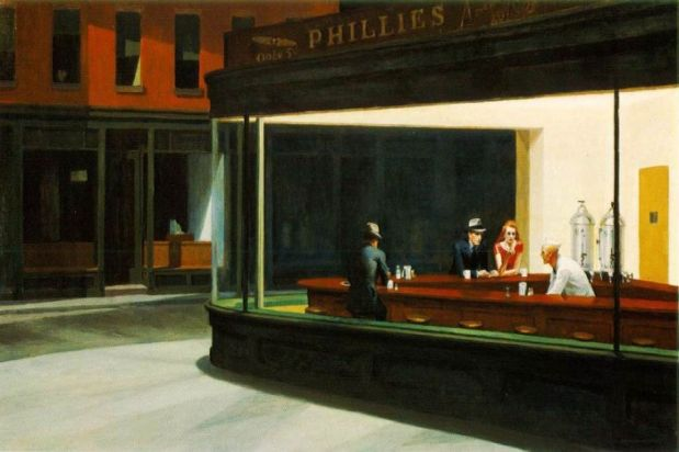 "Das Original: Edward Hopper - ""Nighthawks"""