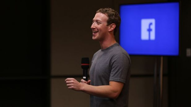 Hat gut lachen: Facebook-Chef Mark Zuckerberg