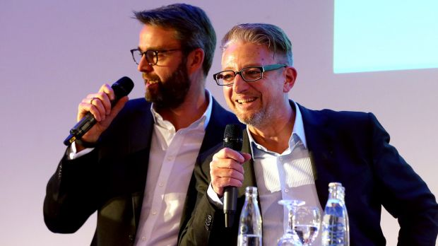Lars Lehne (links) mit Guido Modenbach