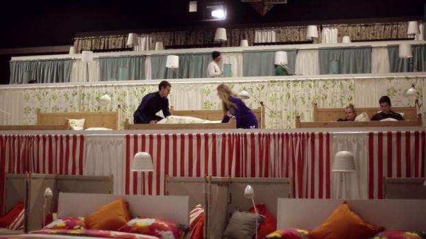 "Marketing-Stunt der ""Wake Up Love""-Kampagne von Ikea"