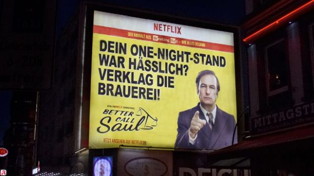 "Out-of-Home Werbung für ""Better Call Saul"""