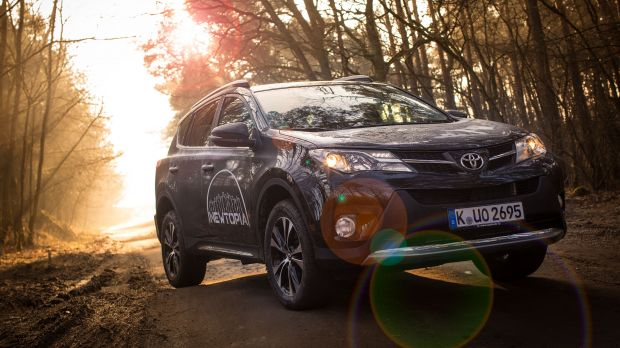 "Product Placement von Toyota in ""Newtopia"""