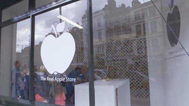 der echte apple store ffnete in london seine pforten - Ikea Lebensmittelmarkt