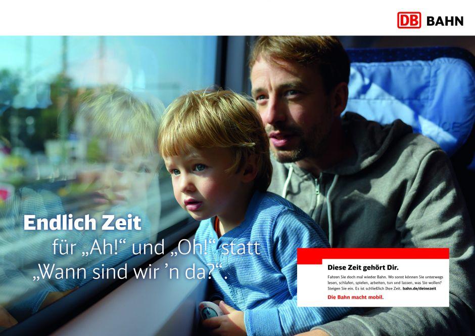 Die Bahn Werbung