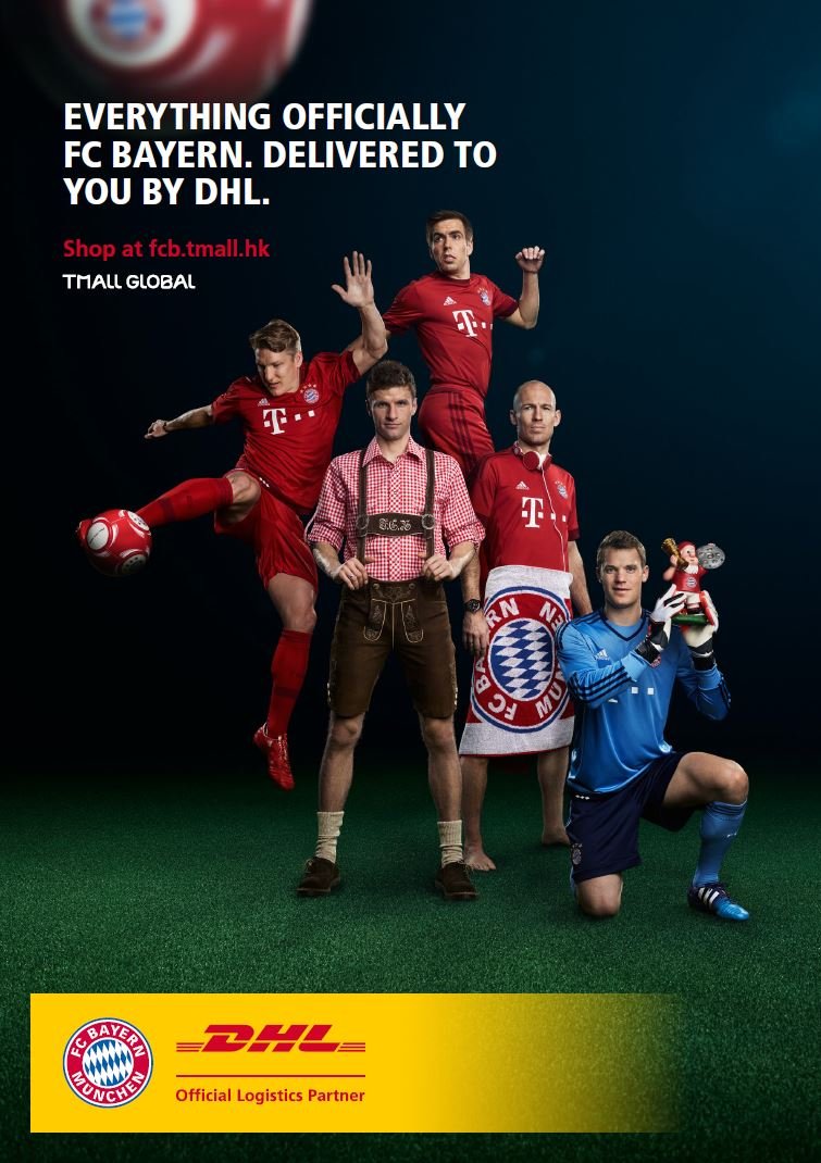 "Printmotiv zur Kampagne ""Everything FC Bayern Munic"""