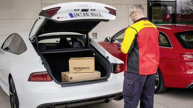 Kofferaumzustellung Dhl Audi Und Amazon Wollen Pakete Direkt Ins