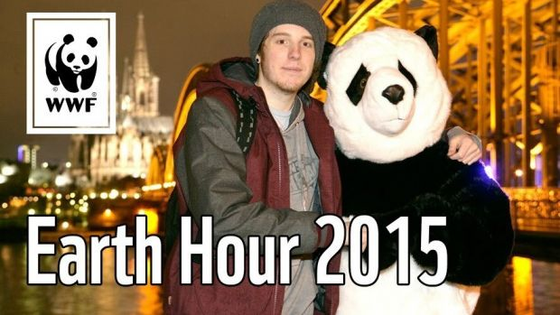 "Youtube-Star Unge begleitete den WWF bei der ""Earth Hour"""