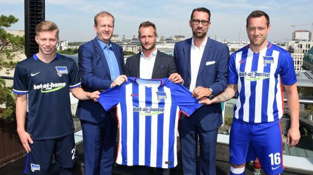 Hertha BSC und Bet at Home werden Sponsoring-Partner