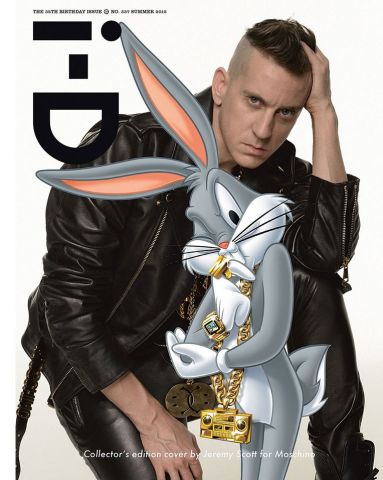 "Cool: Das ""I-D""-Cover von Moschino-Designer Jeremy Scott"