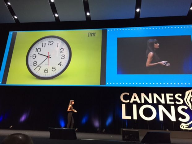 Jessica Walsh bei den Cannes Lions