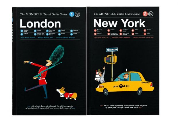 "Neu am Kiosk: ""Monocle""-Travelguides"