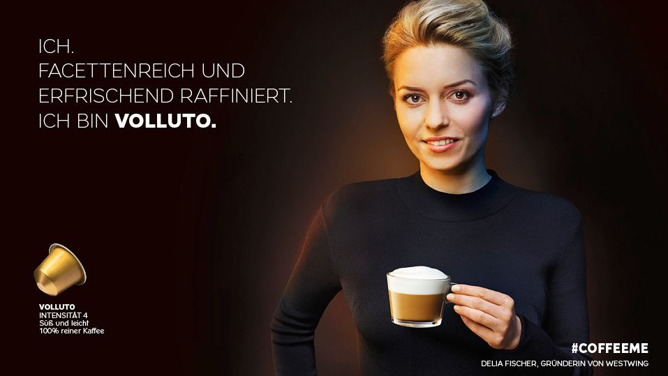 Drinking Coffee Commercial