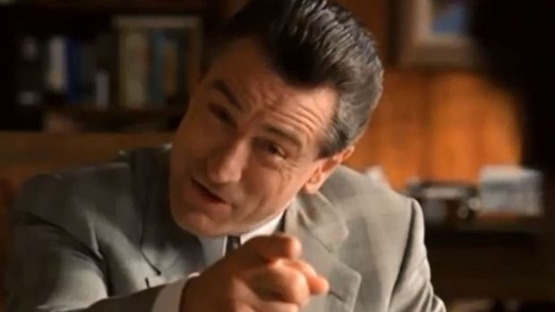 "Robert de Niro in ""Analyze This"" (1999)"