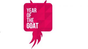 Year of the Goat Logo