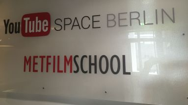 Youtube teilt sich den Space in Berlin mit der MET Film School