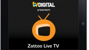 Zattoo Startscreen