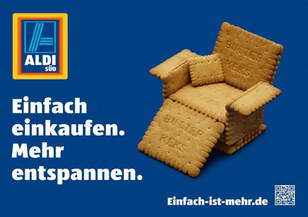 einfach einkaufen aldi wehrt sich mit imagekampagne gegen lidl und co. Black Bedroom Furniture Sets. Home Design Ideas