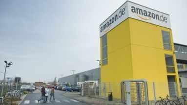 Amazon-Logistikzentrum in Leipzig