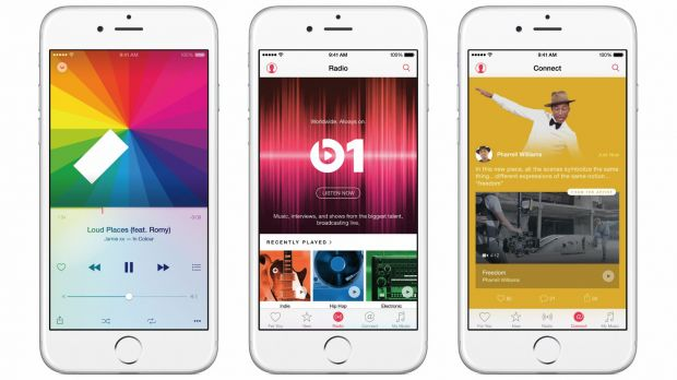 Apple Music ging am 30. Juni an den Start