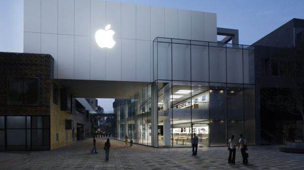 Der Apple Store in Peking