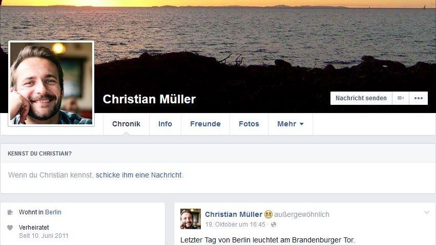 Facebook Jung Von Matt Zeigt Wie Deutschlands Typisches Social Media Profil Aussieht