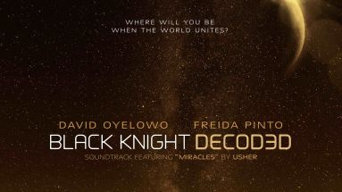 "Das Poster zum Kurzfilm ""Black Knight decoded"""