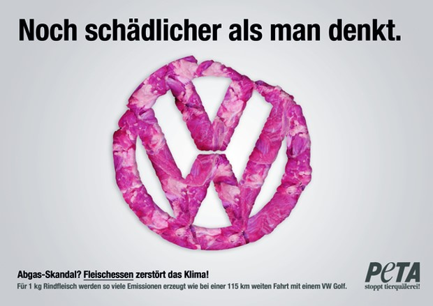 Das Peta Motiv Zum Volkswagen Skandal