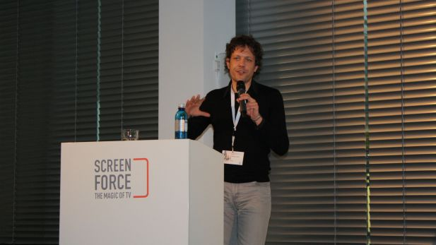 Jugendforscher Philipp Ikrath beim Screensforce Expertenforum