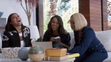 Sorgen für gute Laune in dem Apple-Music-Spot: Taraji P. Henson, Kerry Washington und Mary J. Blige