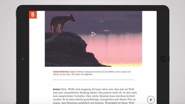 Spiegel neue app l st sich von magazin optik und bindet for Youtube spiegel tv