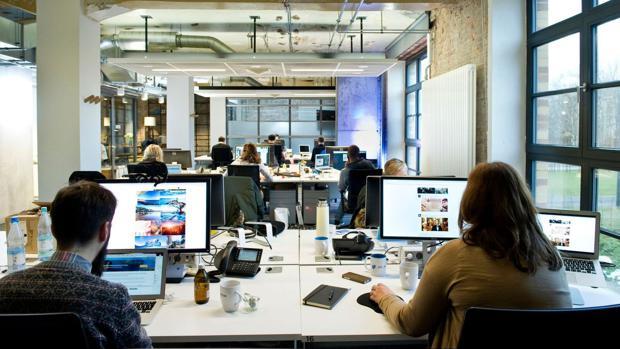 Büro Berlin so sieht das neu bezogene büro in der berliner factory aus
