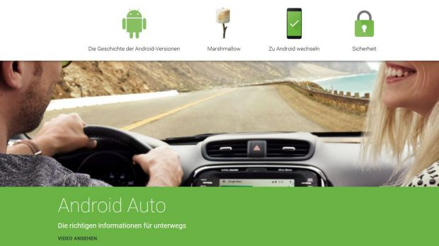 Google will Android Auto als Basis für Bordcomputer anbieten
