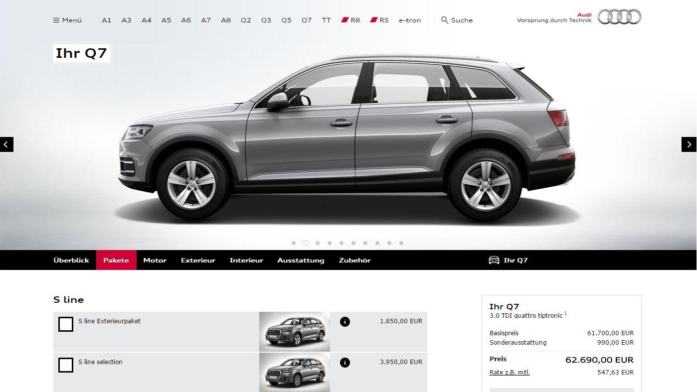 Autobauer audi bmw und mercedes benz haben die besten for Mercedes benz online