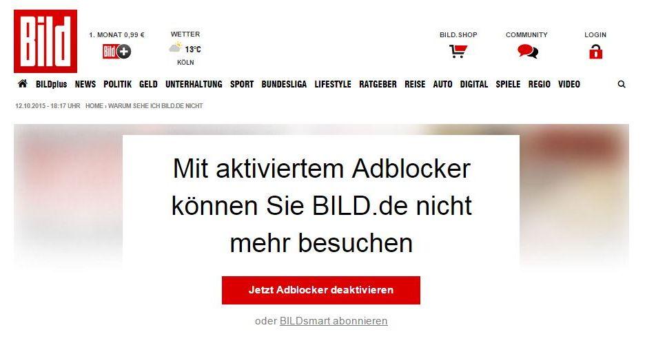 Anti Werbung Blocker