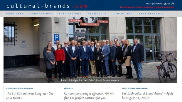 Causales bringt Cultural-Brands.com an den Start