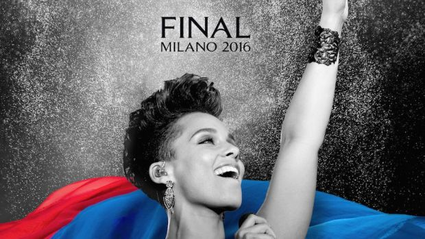 Alicia Keys performt beim Champions-League-Finale in Mailand