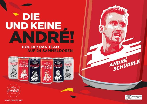 Out-of-Home-Motiv der Coke-Kampagne