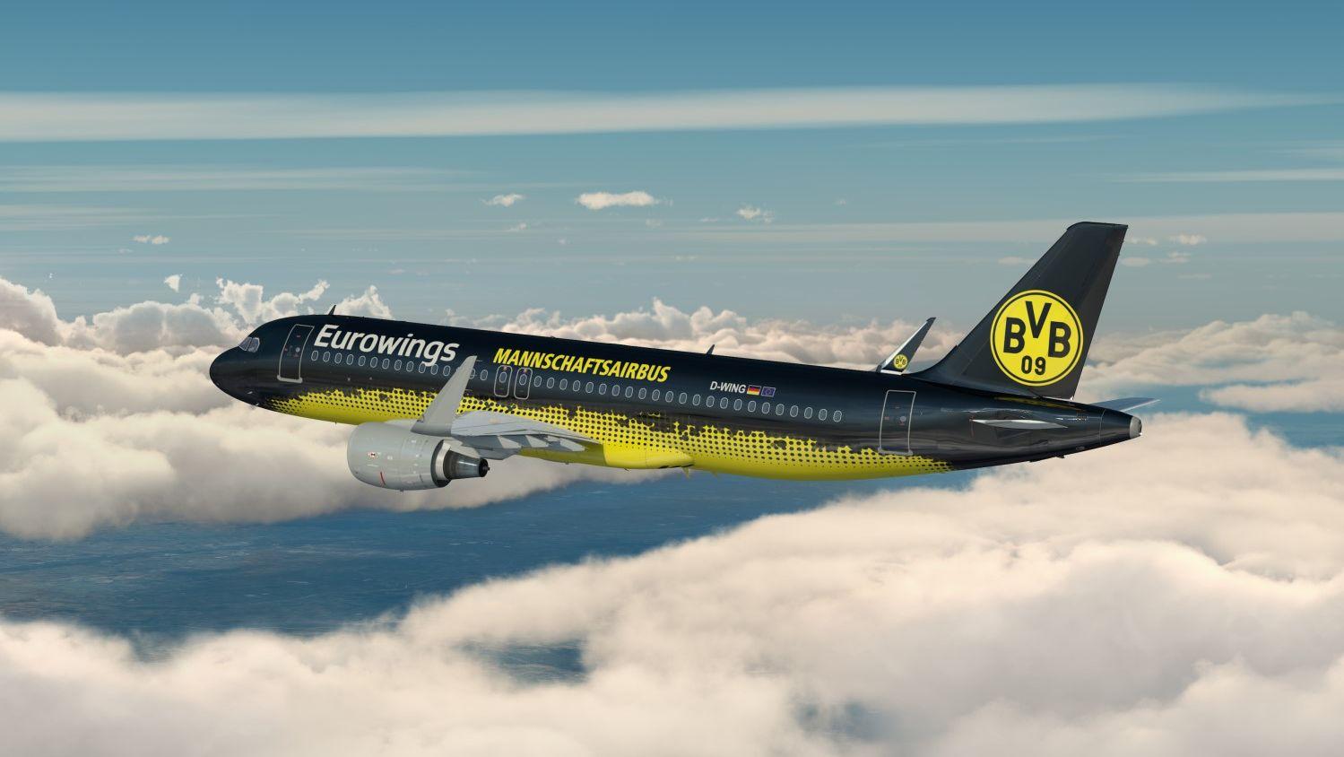 Borussia Dortmund Eurowings löst Turkish Airlines als