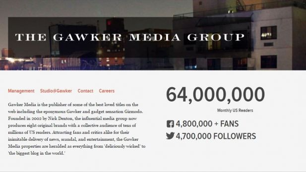 Nach Hogan Klage Blog Netzwerk Gawker Stellt Insolvenzantrag