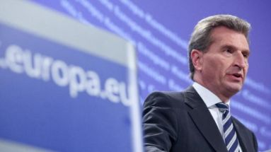 EU-Digitalkommissar Günther Oettinger